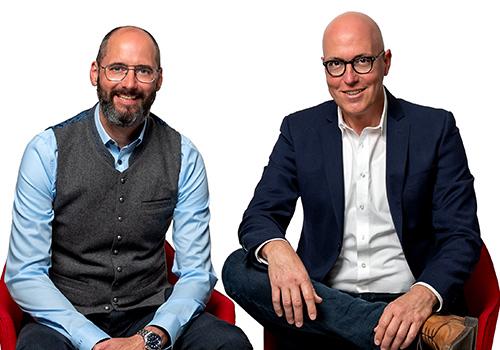 Alexander Becker und Andreas Siebel