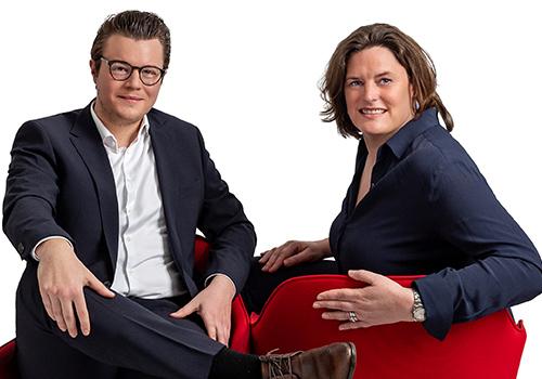 Andreas Giek und Carola Jansen