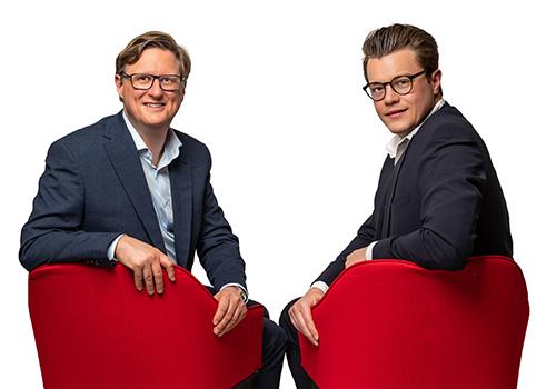 Frank Ommerborn und Andreas Giek