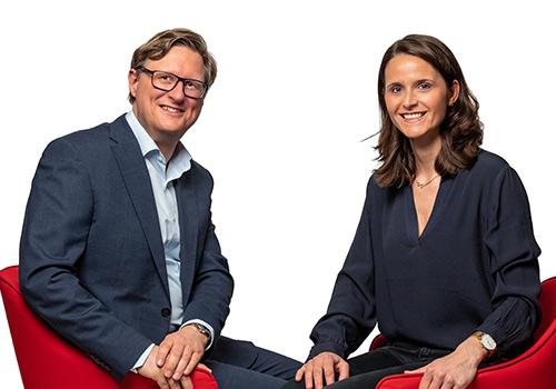 Frank Ommerborn und Kristina Heugen ABRE Steuerberater